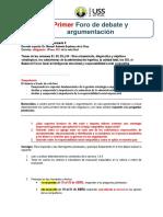 2. MAEC 2019-I GUÍA 1° Foro Deb y Arg SEMINARIO II (1).docx