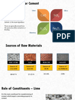 Introduction to cement production
