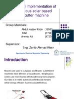 Fyp Mid Presentation Final Report Done