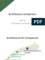 Architecture Comparison and LCU Comparison