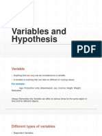 Variables and Hypothesis.pptx