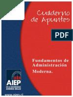 Fundamentos de Administracion Moderna