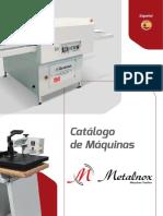 Catalogo Maquinas Metalnox Es