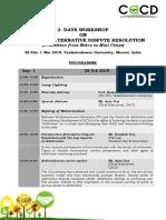 Arbitration Workshop- Feb 2019