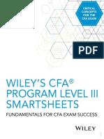 Wiley CFA Level III Quick Sheet