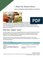Como cultivar de forma orgánica?