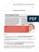 Insightsonindia.com-Insights Into Editorial Crisis Defused on Hindi Imposition