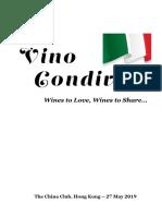 2019 05 27 Vino Condiviso