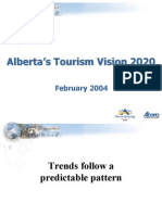 Alberta Tourism Trends to 2020
