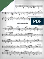 3. Sarabande Bach