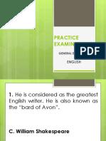 Practice Examination