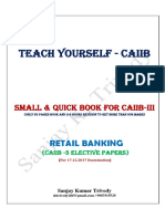 Caiib - 3 Retail Banking Quick Book