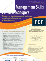 Essential Management Skills For New Managers