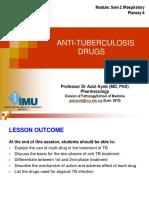 Sem2 Anti TB Drugs