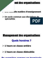 Anim Management Des Organisations