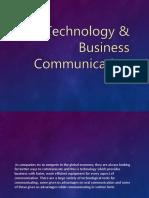 Technology & Business Communication
