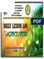 FRONT COVER AGRICULTURE