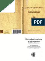 S.N. Goenka - Mahasatipatthana Sutta_ The Great Discourse on the Establishing of Awareness  -Vipassana Dhura (2000).pdf