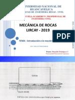 Cap i Mr 2019 i Mecanica de Rocas