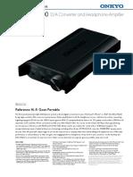 Dac-ha200 Manual Etc