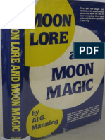 Manning, Al G. - Moon Lore and Moon Magic, Few Pages Missing