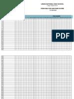 item analysis template