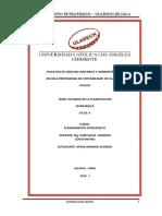 Actividad Colaborativa N 03 Peligros de La Planificacion Estrategica