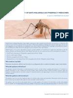 Supply of Anti-malarials as Pharmacy Medicines (1)
