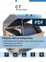 SENECT Aquaculture Drum Filter Flyer
