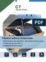 SENECT Aquaculture Drum Filter Flyer