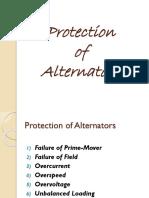 Protection of Alternators