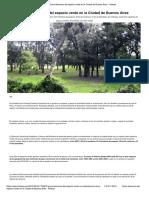 Espacios Públicos_ La Reconquista Del Verde en La Ciudad de Buenos Aires - Revista Noticias