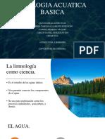 Ecologia Acuatica Basica