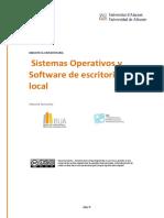 2.2 Sistemas Operativos y Software de Escritorio Local
