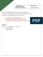 CS601 Assignment 1