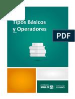 1 Tipos Básicos y Operadores