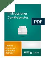 2 Instrucciones Condicionales