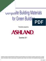 Composites Bldg Mtrls for Green Building