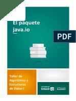 6 El Paquete Java.io