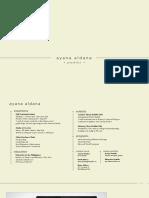 AyanaAldana Folio 2018