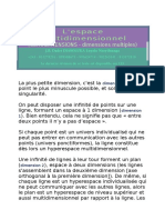 Comprendre Facilement La Multi-dimension (Dimensions Multiples)