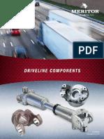 Meritor Driveshaft and Yoke Parts Manual