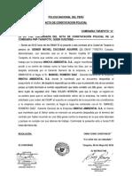 Constatación Policial Innova Ambiental s.a.