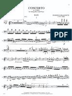 Dragonetti Concierto en La (Bajo) International Music Company