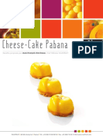 Recette Cheese Cake Pabana Purees Ambiantes Compotees de Fruits Surgelees