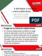 1. Cargue y Descargue Mineria Subterranea Ex
