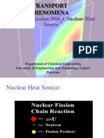 Heat Conduction Nuclear Heat Source