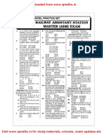 RRB ASM Model Question Papers_www.qmaths.in