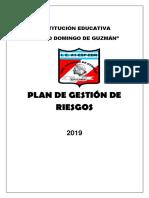 PLAN GESTION DE RIESGOS