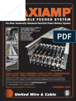 MAXIAMP 2017 Power Cable Feeder System